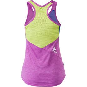 La Sportiva Earn - Haut sans manches Femme - vert/violet